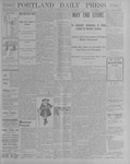 Portland Daily Press: October 8, 1900