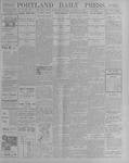 Portland Daily Press: October 10, 1900