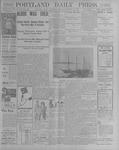 Portland Daily Press: October 11, 1900