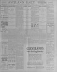 Portland Daily Press: October 12, 1900