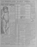 Portland Daily Press: October 13, 1900