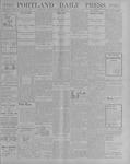 Portland Daily Press: October 15, 1900