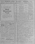 Portland Daily Press: October 16, 1900