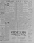 Portland Daily Press: October 17, 1900