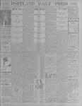 Portland Daily Press: October 18, 1900