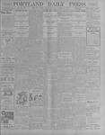 Portland Daily Press: October 19, 1900