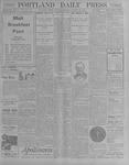 Portland Daily Press: October 23, 1900