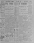 Portland Daily Press: October 24, 1900