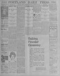 Portland Daily Press: October 25, 1900