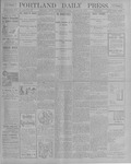 Portland Daily Press: October 27, 1900