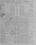 Portland Daily Press: October 29, 1900