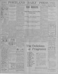 Portland Daily Press: October 31, 1900