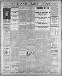Portland Daily Press: November 3, 1900