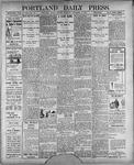 Portland Daily Press: November 5, 1900