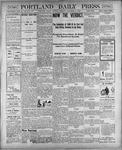 Portland Daily Press: November 6, 1900