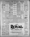 Portland Daily Press: November 9, 1900