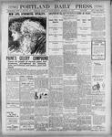 Portland Daily Press: November 10, 1900