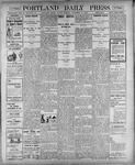 Portland Daily Press: November 16, 1900