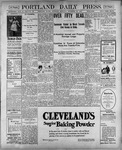 Portland Daily Press: November 22, 1900
