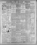 Portland Daily Press: November 26, 1900