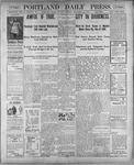 Portland Daily Press: November 27, 1900