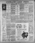 Portland Daily Press: November 29, 1900