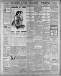 Portland Daily Press: December 8, 1900