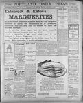 Portland Daily Press: December 11, 1900