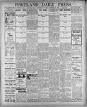 Portland Daily Press: December 26, 1900