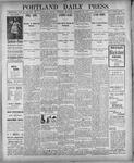 Portland Daily Press: December 27, 1900