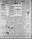 Portland Daily Press: December 28, 1900