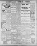 Portland Daily Press: January 21, 1901