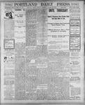 Portland Daily Press: January 22, 1901