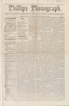 Phillips Phonograph : Vol. 1, No.5 - October 12, 1878 by Phillips Phonograph Newspaper