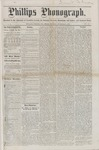 Phillips Phonograph : Vol. 1, No.9 - November 09, 1878 by Phillips Phonograph Newspaper
