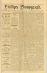 Phillips Phonograph : Vol. 1, No.47 - August 02, 1879 by Phillips Phonograph Newspaper