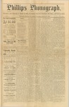 Phillips Phonograph : Vol. 1, No.49 - August 16, 1879 by Phillips Phonograph Newspaper