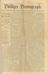 Phillips Phonograph : Vol. 1, No.50 - August 23, 1879 by Phillips Phonograph Newspaper