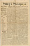 Phillps Phonograph : Vol. 2, No. 3 September 27,1879 by Phillips Phonograph Newspaper