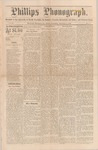 Phillps Phonograph : Vol. 2, No. 9 November 08,1879 by Phillips Phonograph Newspaper
