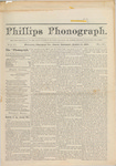 Phillps Phonograph : Vol. 2, No. 27 March 13,1880 by Phillips Phonograph Newspaper