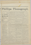 Phillps Phonograph : Vol. 2, No. 28 March 20,1880 by Phillips Phonograph Newspaper