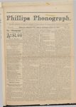 Phillps Phonograph : Vol. 2, No. 31 April 10,1880 by Phillips Phonograph Newspaper