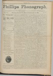 Phillips Phonograph : Vol. 3, No. 7 October 23,1880 by Phillips Phonograph Newspaper