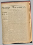 Phillips Phonograph : Vol. 3, No. 28 March 19,1881 by Phillips Phonograph Newspaper