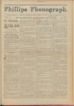 Phillips Phonograph : Vol. 3, No. 49 August 13,1881 by Phillips Phonograph Newspaper