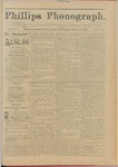 Phillips Phonograph : Vol. 3, No. 50 August 20,1881 by Phillips Phonograph Newspaper