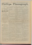 Phillips Phonograph : Vol. 3, No. 51 August 27,1881 by Phillips Phonograph Newspaper
