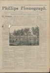 Phillips Phonograph : Vol 4. No. 1 September 10, 1881 by Phillips Phonograph Newspaper