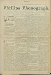 Phillips Phonograph : Vol 4. No. 4 October 01, 1881 by Phillips Phonograph Newspaper